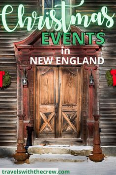 Christmas in New England is as beautiful as you have heard! Here are the best ways to celebrate in the Northeast with festivals, beautiful towns, decorations and more. Enjoy Christmas in New England. Christmas Markets, Christmas Travel, Christmas Vacation, Holiday Travel, Merry Christmas, Alaska Travel, Canada Travel, Usa Travel, Travel Ideas