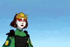Suki -- I want to be a Kyoshi Warrior.