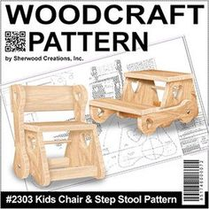 Woodcrafting Plans and Patterns, Yard Art Patterns, Tools and Supplies by Sherwood Creations