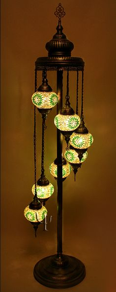 Turkish Mosaic Lamps   Ottoman Chandeliers   Mosaic Hanging Lamps