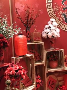 Inspiring Chinese New Year Party Design Ideas To Try Asap Chinese Wedding Decor, Chinese New Year Decorations, Chinese New Year Party, Oriental Wedding, Chinese Theme, Chinese New Year Crafts, New Years Decorations, Fruit Decorations, New Years Party Themes