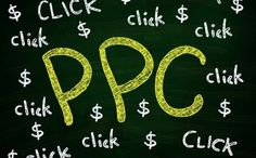 PPC by airdone. PPC Click and Dollar Lettering, written with Chalk on Blackboard Then Vs Now, Photo Storage, Search Engine, Online Marketing, Photo Editing, Stock Photos, Lettering, Writing, Sew
