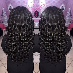 Virgin Brazilian body wave installed & wand curled by Krystal  http://ift.tt/1IwK6GD to book an appointment by hassadity_hair