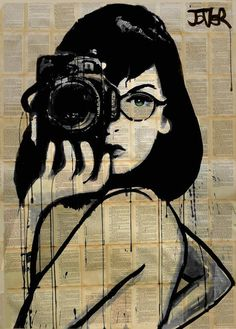the photographer (SOLD), Loui Jover