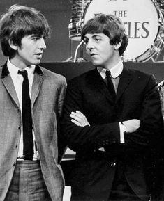 Paul and George. Cuties!