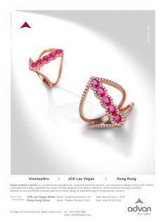 Advan Jewelry Ltd. #HKJE #Magazine #SpringSummer2016 #Advertisement #Jewellery #Diamond #FineJewellery