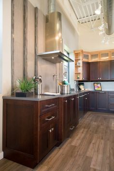 Kitchen & Bath showcases Cemento in Suede finish in their showroom.