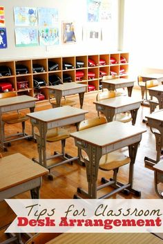There are so many variables to consider when arranging students desks - who should sit next to who? Clusters or rows? Here are some tips.:
