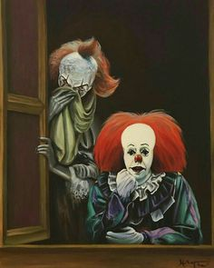 NEW AND OLD PENNYWISE .