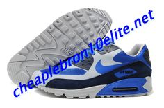 size 40 c471a c0ed7 Dark Blue Black Fly Blue Nike Air Max 90 Mens Royal Blue 333888 404