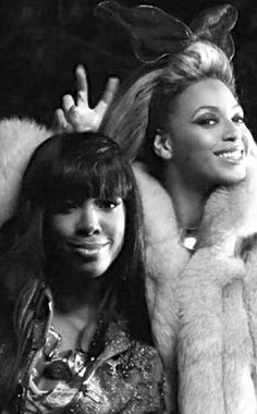 Beyonce wishes her sis Kelly a Happy Bday!!  Unbreakable Bond!!!  So cute.