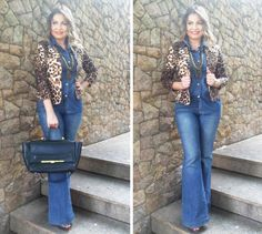 Look Work – Total Jeans e Onça