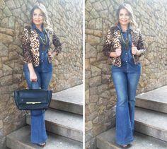 Look Work – Total Jeans e Onça