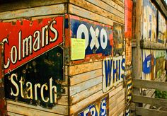 rusty old signs