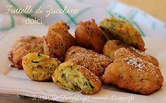 Frittelle di zucchine dolci ricetta della nonna facile e golosa