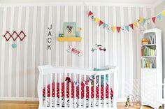 decoração de quarto de bebê tema circo
