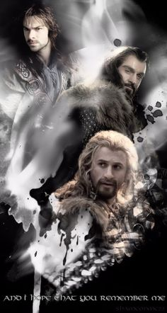 The line of Durin. This picture just gives me too many emotions...