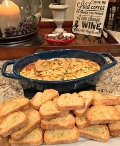 Mom's Baked Ricotta Dip - The Cookin Chicks