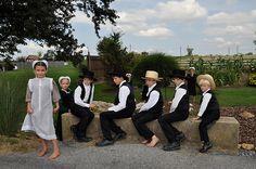 Amish Sunday Best