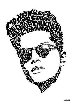 Bruno Mars by Seanings