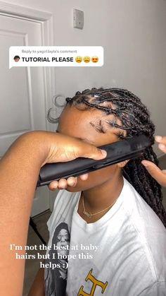 Box Braids Hairstyles For Black Women, Faux Locs Hairstyles, Twist Braid Hairstyles, African Braids Hairstyles, Baddie Hairstyles, Cute Hairstyles, Hair Ponytail Styles, Curly Hair Styles, Braid Styles