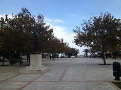 Πλατεία Ραφήνας στην πόλη Ραφήνα, Αττική