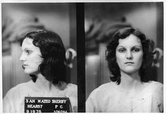 Story of the Patty Hearst's Kidnapping through Pictures in the 1970s