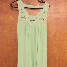 Day trip dress Daytrip pastel green dress. Worn once. Very cute! Size medium! From the buckle Daytrip Dresses Mini