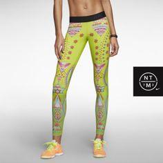 Nike Pro Sparkling Sunburst Women's Tights