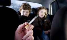 Smokers underestimate how much they expose their children | Daily Mail Online