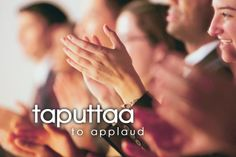 taputtaa ~ to applaud
