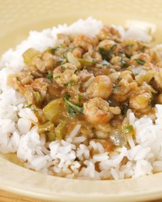 Crawfish Etouffee - Martha Stewart  *butter, flour (sub arrowroot), onion, celery, green bell pepper, garlic, bay, thyme, shrimp stock, diced tomatoes, worcestershire, tabasco, crawfish tails, lemon, scallion, parsley (cauliflower rice)