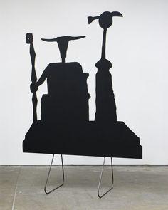 Peter Coffin - Sculpture Silhouette Prop (M. Ernst 'Capricorn' 1948)