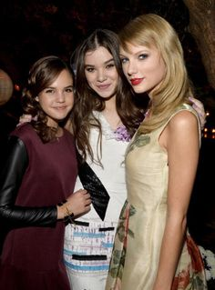 Hailee , Taylor And Bailey Madison at the Romeo and Juliet premiere