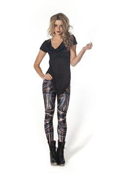 Snake Pit Leggings by Black Milk Clothing