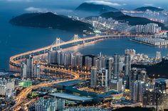 Gwangan Bridge (광안대교)       Busan(부산), South Korea
