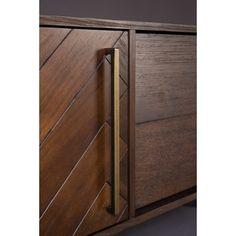 Dutchbone Class Sideboard Dressoir Bruin - 180 x 60 cm - afbeelding 4