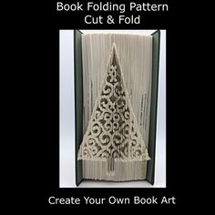 For this Pattern you will require a hardback book that is 20cm or more in height, with at least 401 numbered pages You will receive 3 PDF instant downloadable files, these will include: #Cut & Fold Easy to follow Instructions #Addional Notes #Mark and measure pattern I also have a video tutorial available to see on YouYube, please copy & paste the following link to view https://youtu.be/FmZMHOuDY4E You may use my patterns to create your own folded books and you may...