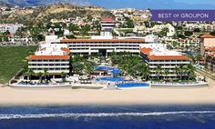 3-, 4-, or 5-Night Stay for Two at All-Inclusive Barcelo Grand Faro Los Cabos in Mexico. Includes Taxes and Fees.