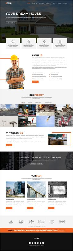Ucons is a wonderful premium 2 in 1 Bootstrap #HTML5 #template for #architecture, construction and building agencies perfect website download now➩ https://themeforest.net/item/gloria-ecommerce-bootstrap-template/18294529?ref=Datasata