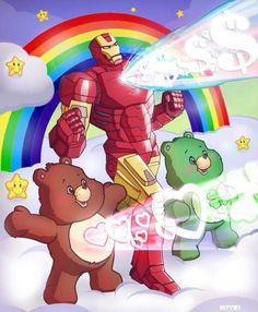 Care bears ..... STARE!!!!
