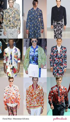 Menswear Print Trends – Spring/Summer 2013 Part 2 | print pattern catwalks