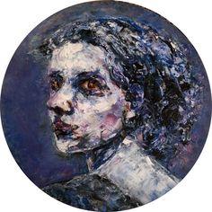 Portrait   40cm Oil on canvas