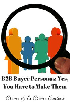 Buyer Personas: Yes, You Have to Make Them – Crème de la Crème Content Content Marketing Strategy, Email Marketing, Status Quo, Design Thinking, Growing Your Business, How To Plan, How To Make, Creme, Blogging