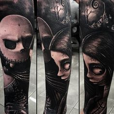 The Nightmare Before Christmas Tattoo..