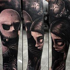 Tattoos Inspired by Tim Burton | Inked Magazine