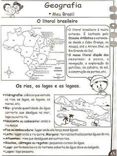 Cadastre-se e receba mu. Geography Worksheets, Portuguese Language, 5th Grade Classroom, Rio Grande Do Sul, Printable Worksheets, Activities, Education, Books, Portal
