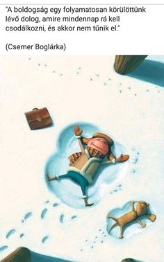 A man and his dog making snow angels. Cool illustration by Denis Zilber. Illustration Inspiration, Winter Illustration, Children's Book Illustration, Illustration Children, Denis Zilber, Arte Dachshund, Snow Angels, Cartoon Kids, Whimsical Art