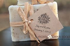 Fifty FULL sized Eco Friendly Chic Wedding Favor Soaps by mossycreeksoaps, $165.00