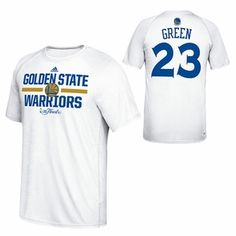 Golden State Warriors adidas Climalite NBA Finals Draymond Green  23  Gametime Shooter Ultimate Tee - White 4fd0854d3